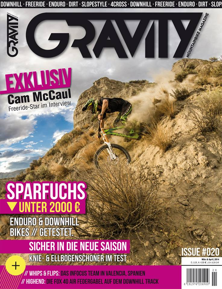 Gravity Mountainbike Magazine #20 Cover